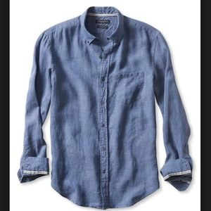 "Banana Republic | ""Camden Fit"" Linen Button Down"